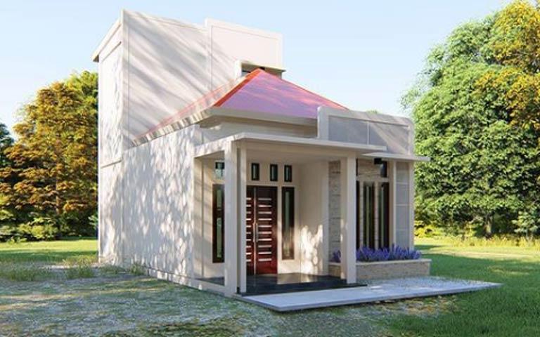desain renovasi rumah type 36
